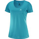 Salomon Mazy SS Tee Women enamel blue